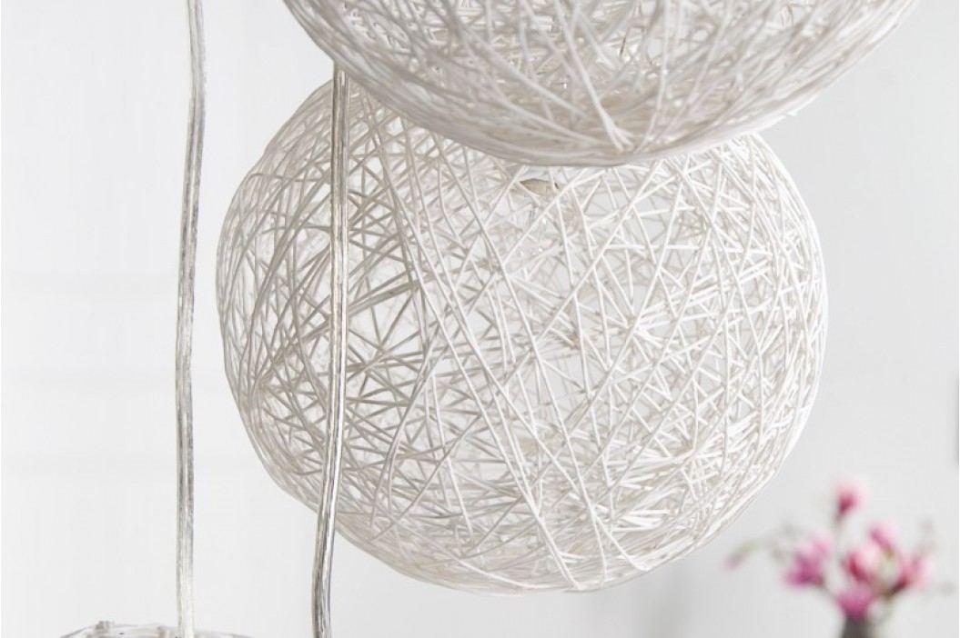 Závesná lampa COCOON - biela