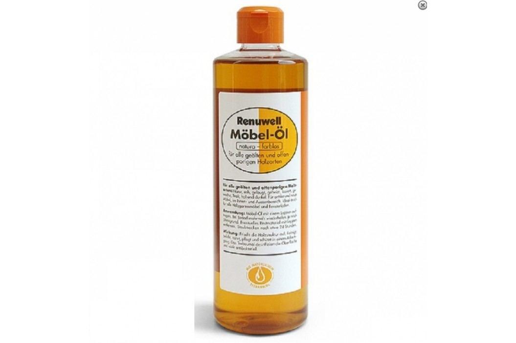 RENUWELL Olej na nábytok, prírodný a bezfarebný 500ml