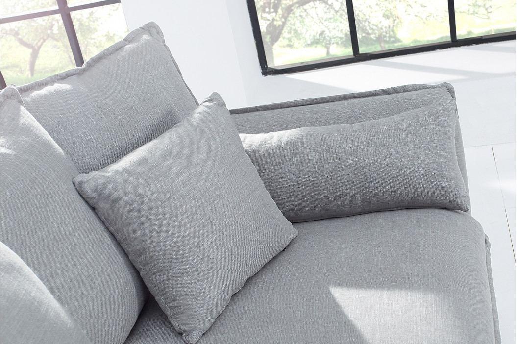 Bighome - 3-sedačka HAEVEN - sivá