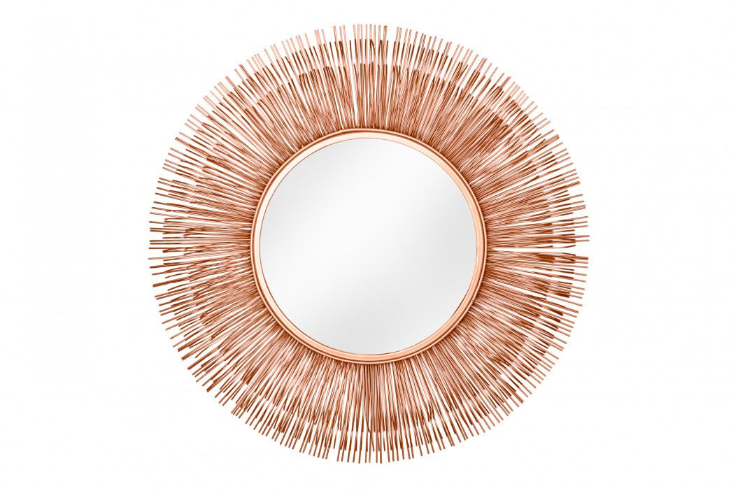 Bighome - Zrkadlo SUN L - medená