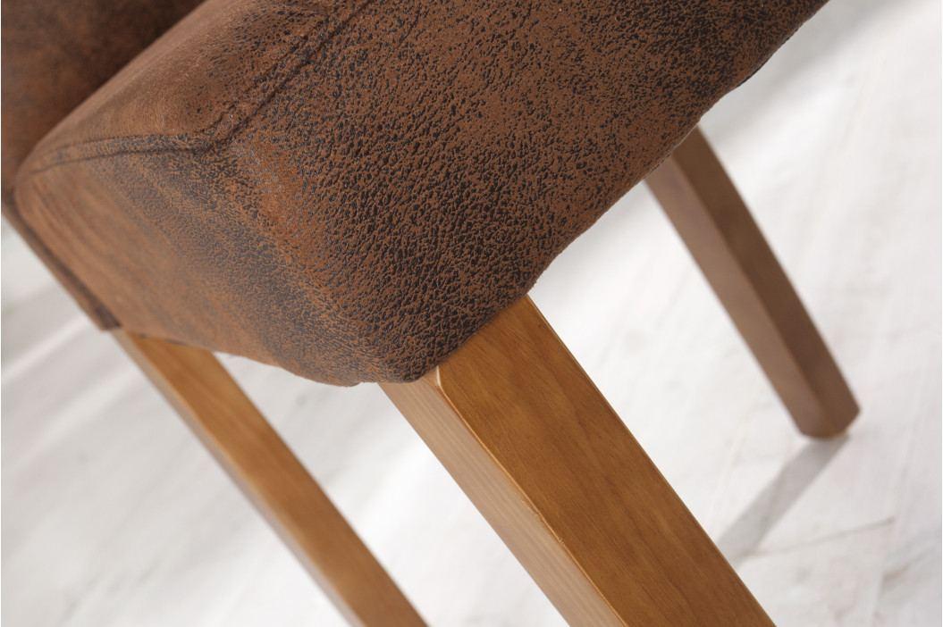 Bighome - Stolička GEAN - kávová II.akosť