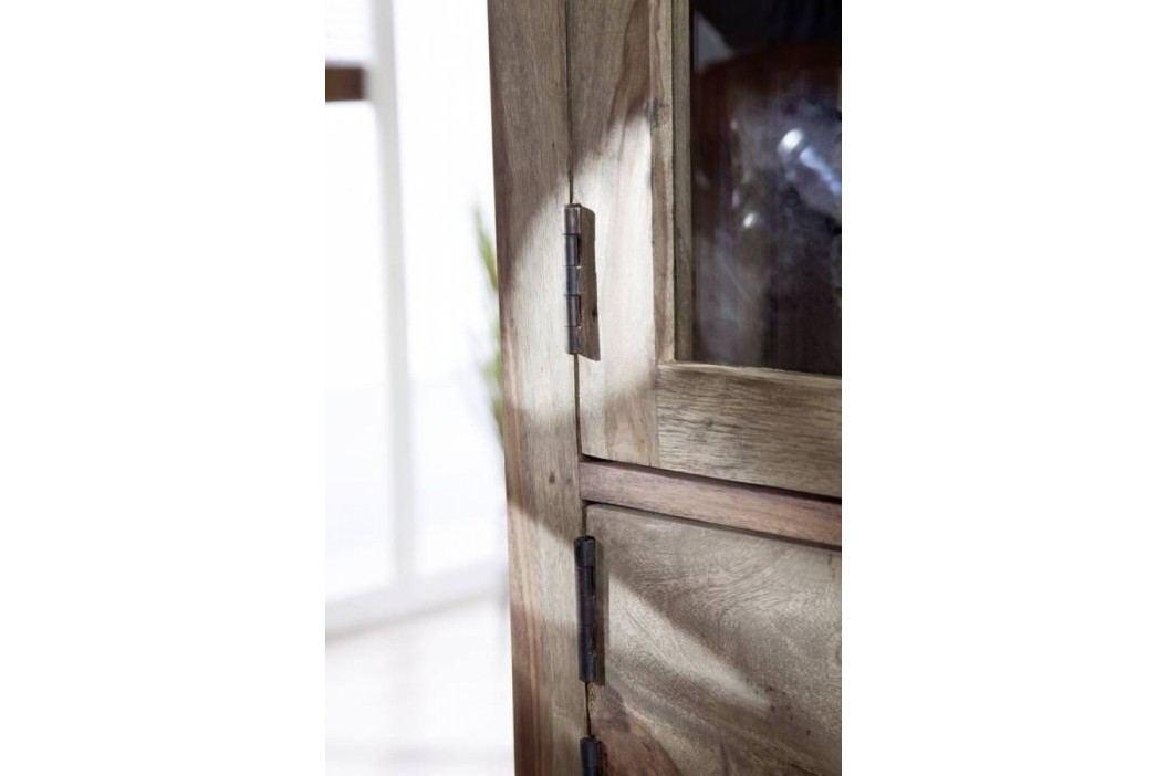 Sheesham visiaci regál , masívne palisandrové drevo