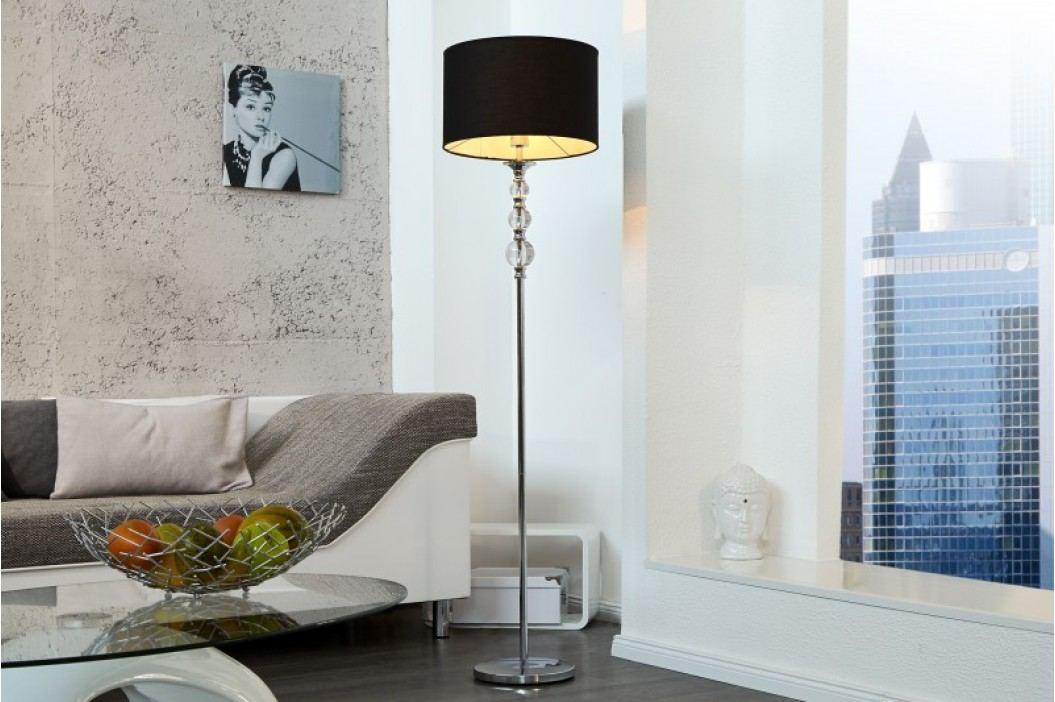 Stojaca lampa TUREISS - čierna
