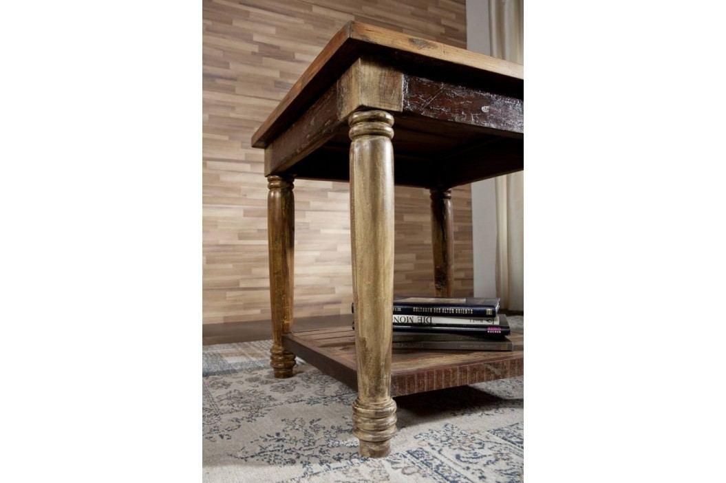 COLORES konferenčný stolík lakované staré indické drevo