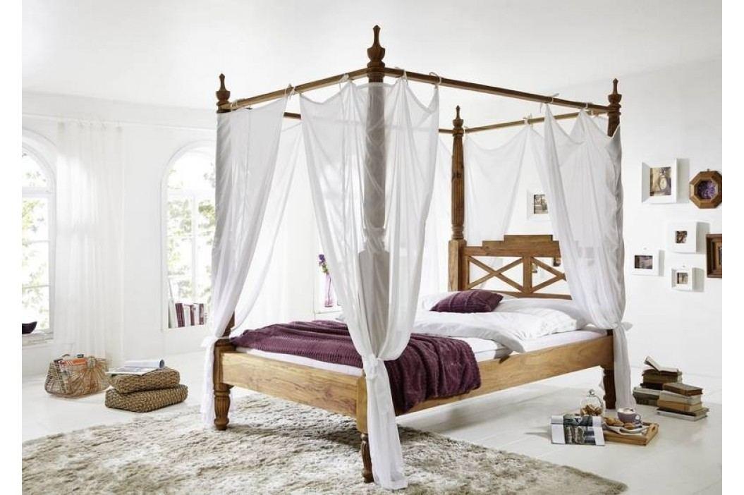 Sheesham posteľ 140x200 masívny palisander