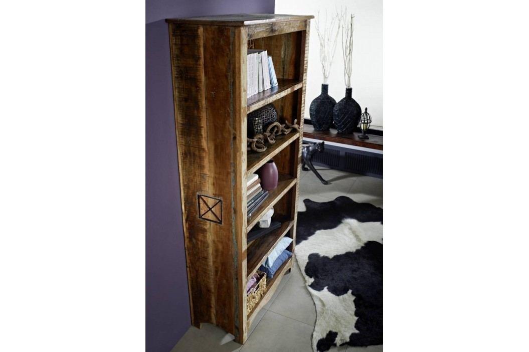 OLDTIME regál lakované staré indické drevo