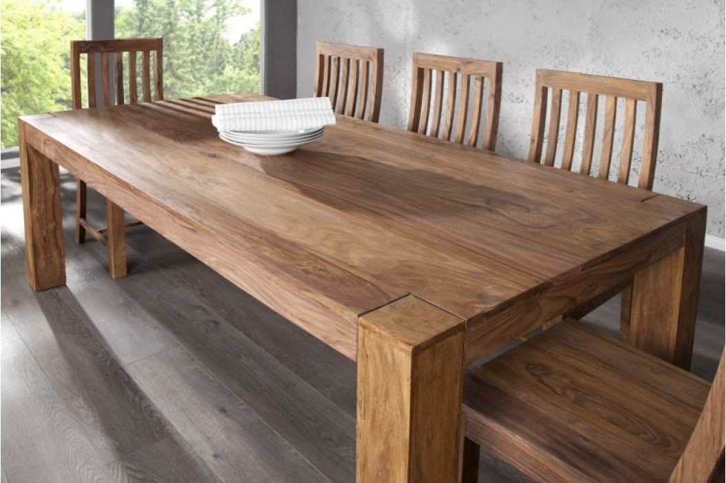Jedálenský stôl MAKASSAR NATUR 200cm - prírodná