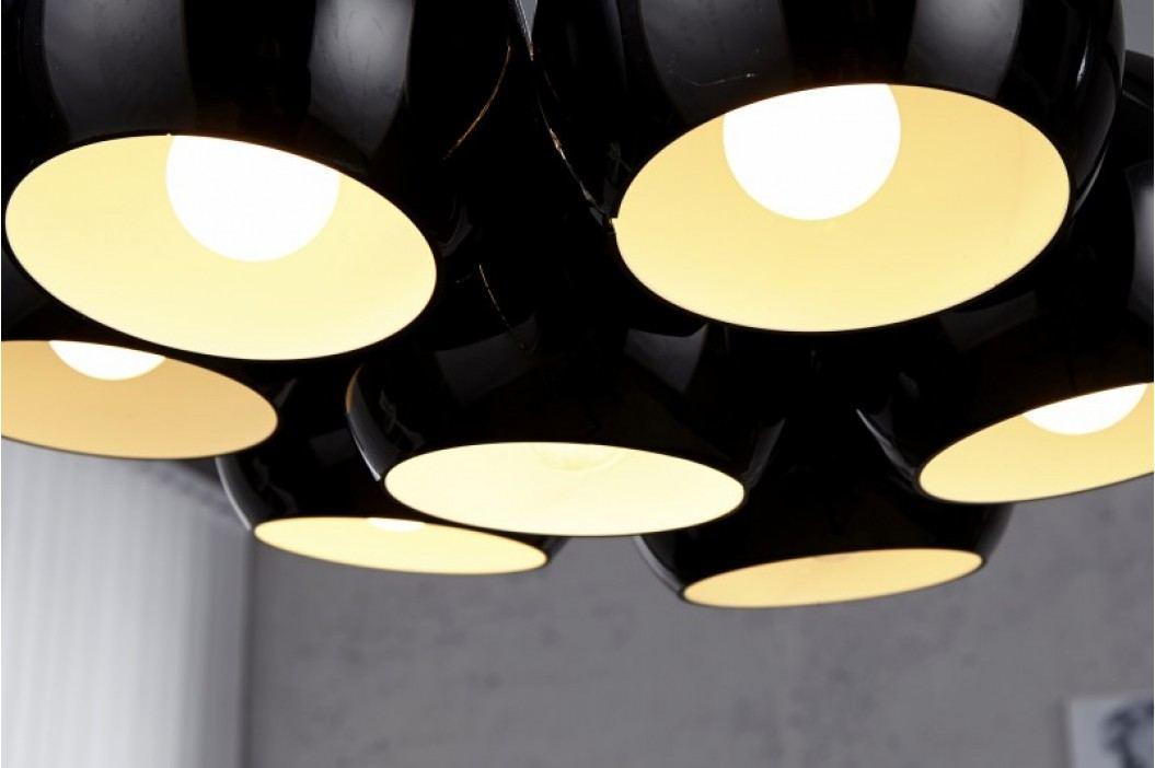 Visiaca lampa VIRGO - čierna