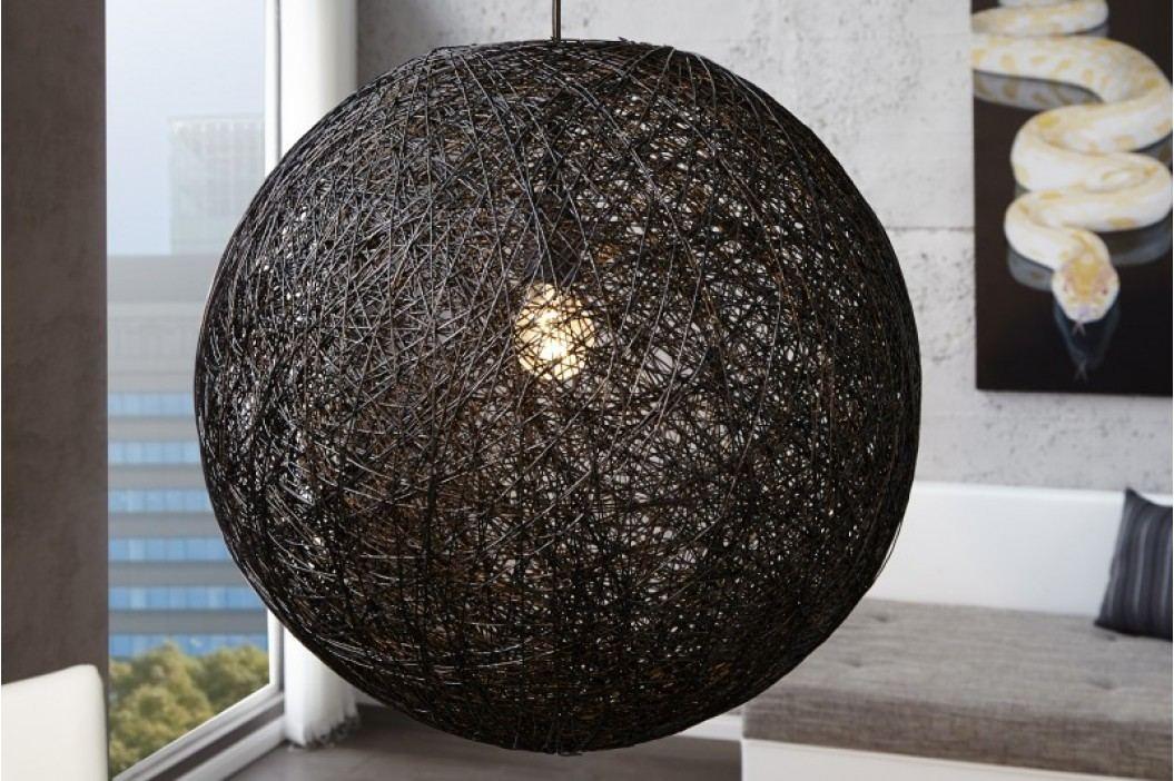 Visiaca lampa VOLANS BIG - čierna