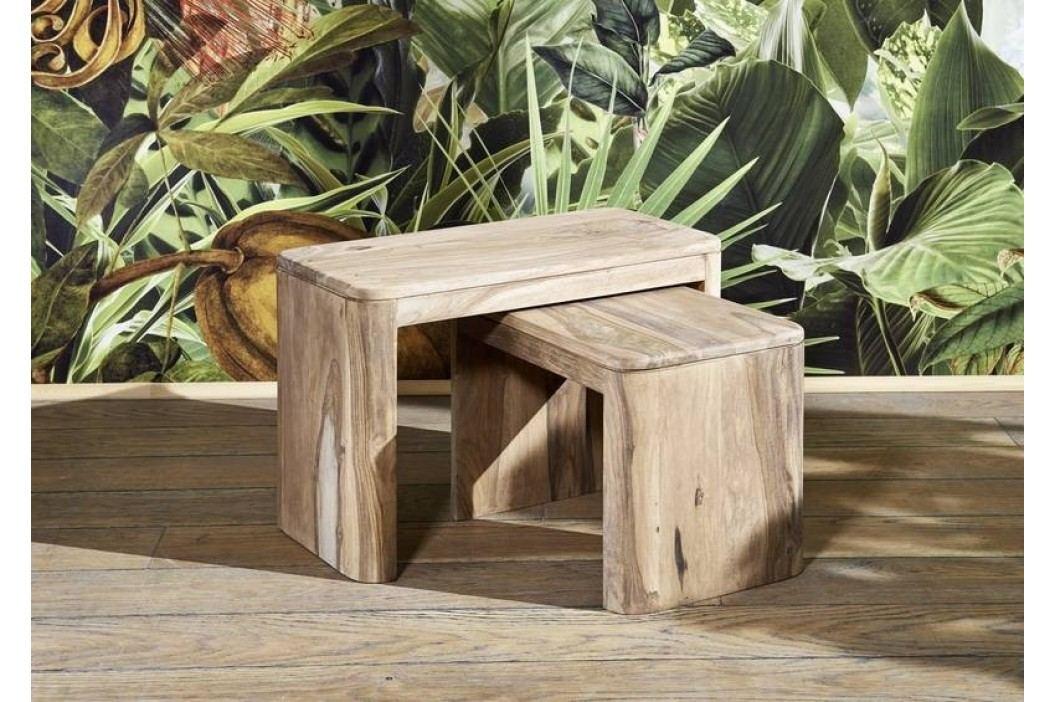 MONTREAL#144Príručný stolík, indický palisander