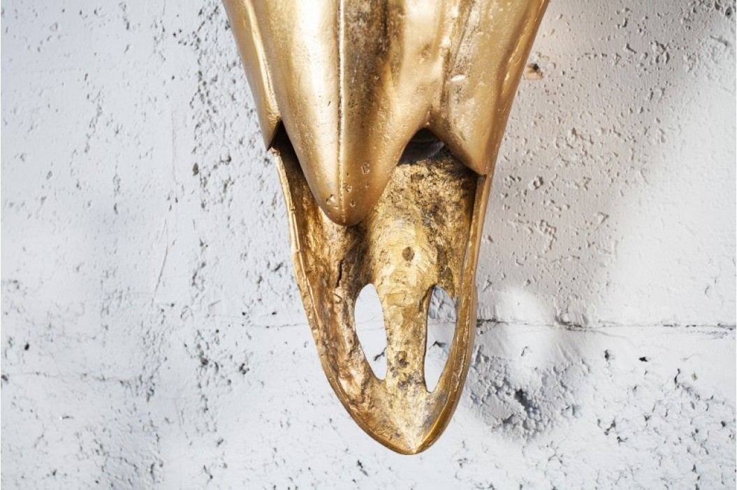 Nástenná dekorácia MATADOR 95 cm - zlatá