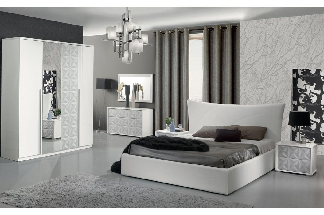 Spálňa DIAMONDE - biela
