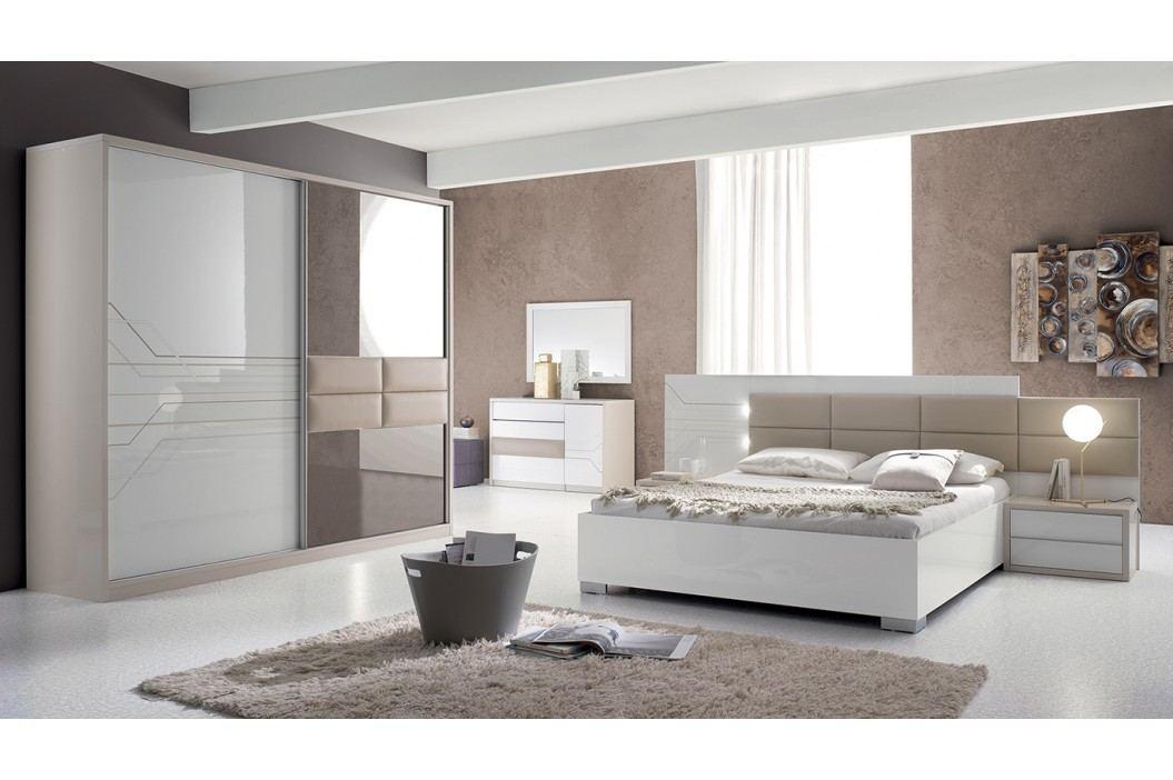 Spálňa TOJANA - biela, béžová