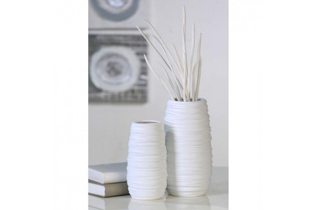 Váza BARID, 28 cm - biela