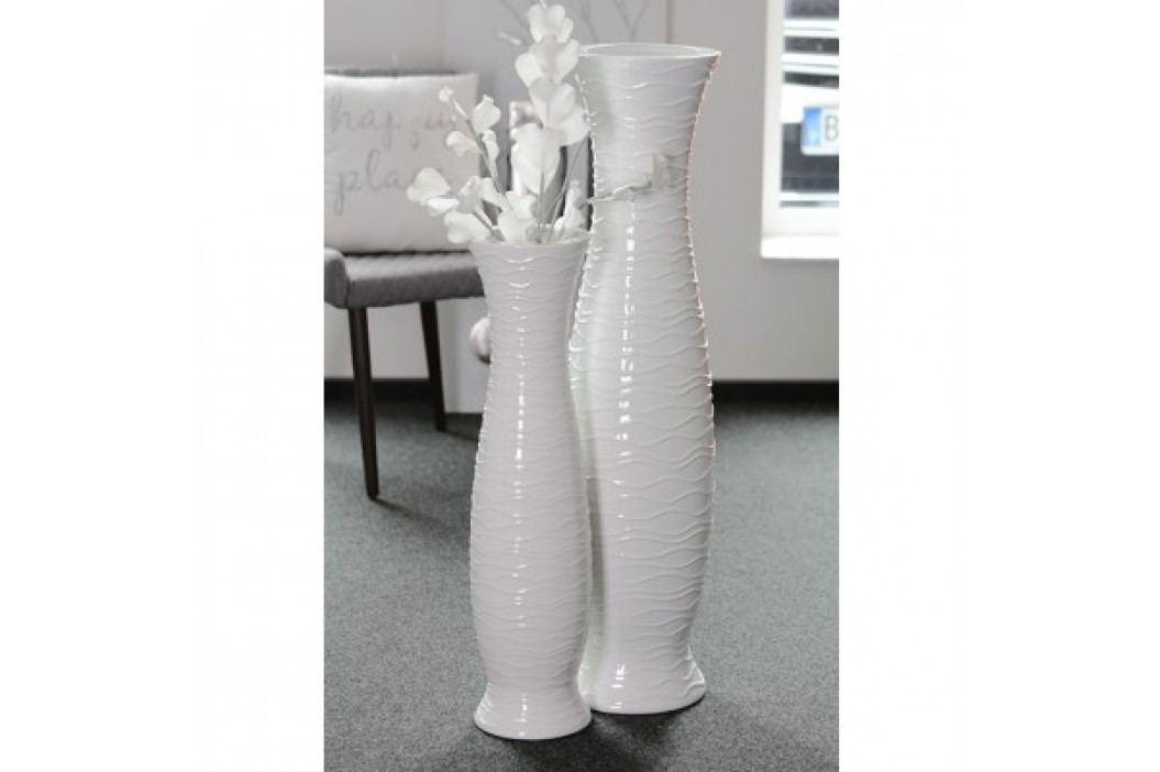 Váza IMPER, 103 cm - biela