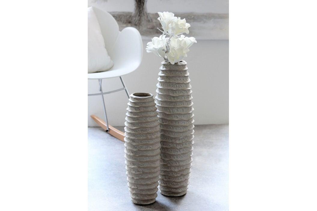 Váza SHARE 55 cm - sivá