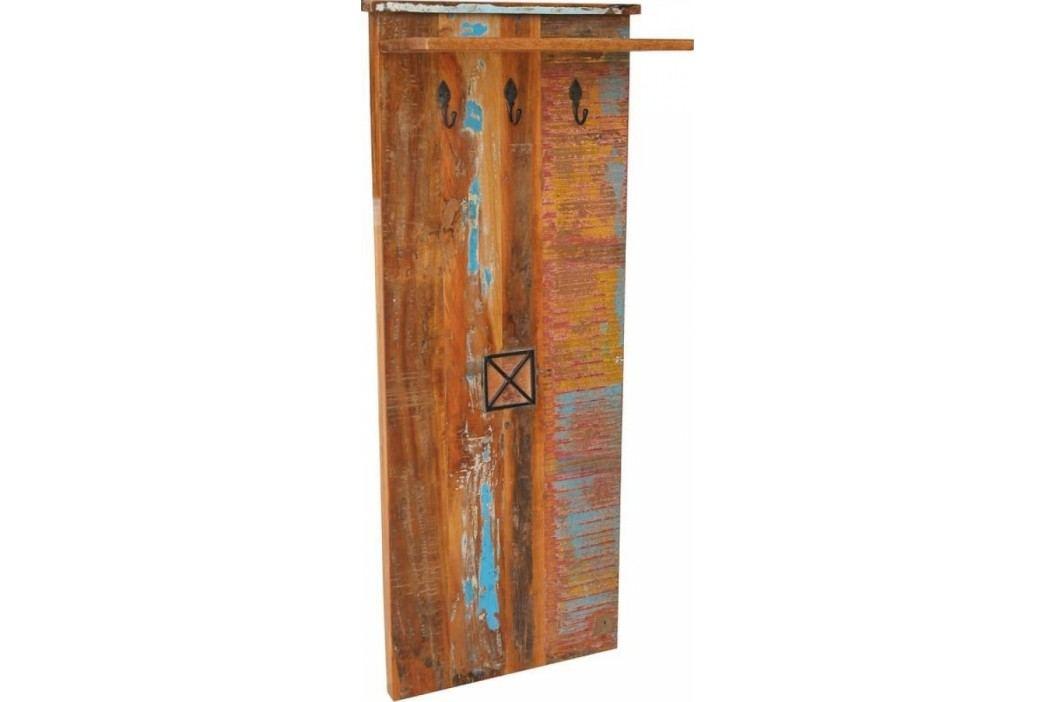 OLDTIME Vešiak indické staré drevo, lakované