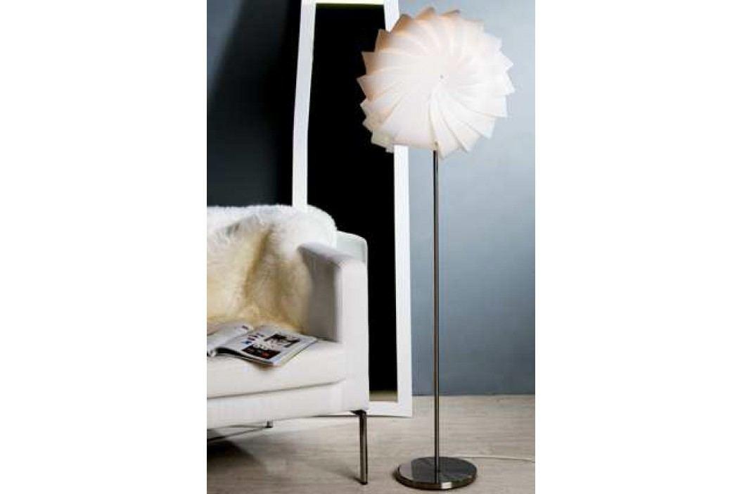 Stojaca lampa DOMINIKA - biela