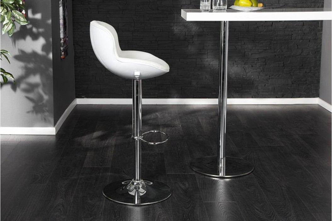 Barová stolička SPEEDCHAIR - biela