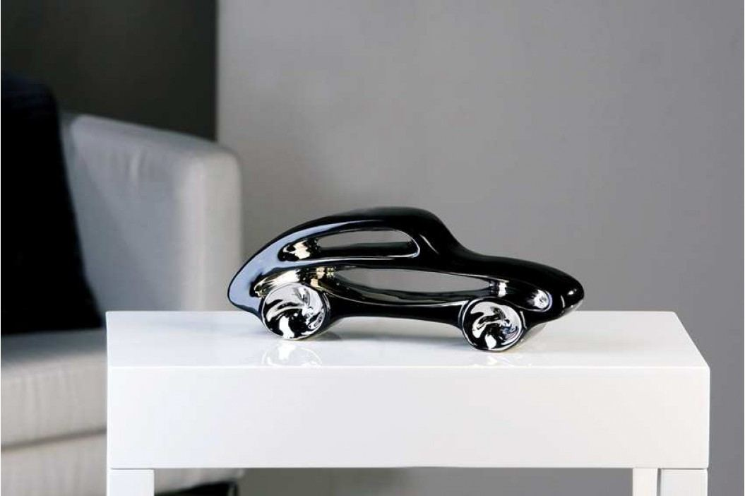 Dekoratívna soška RACE - čierna