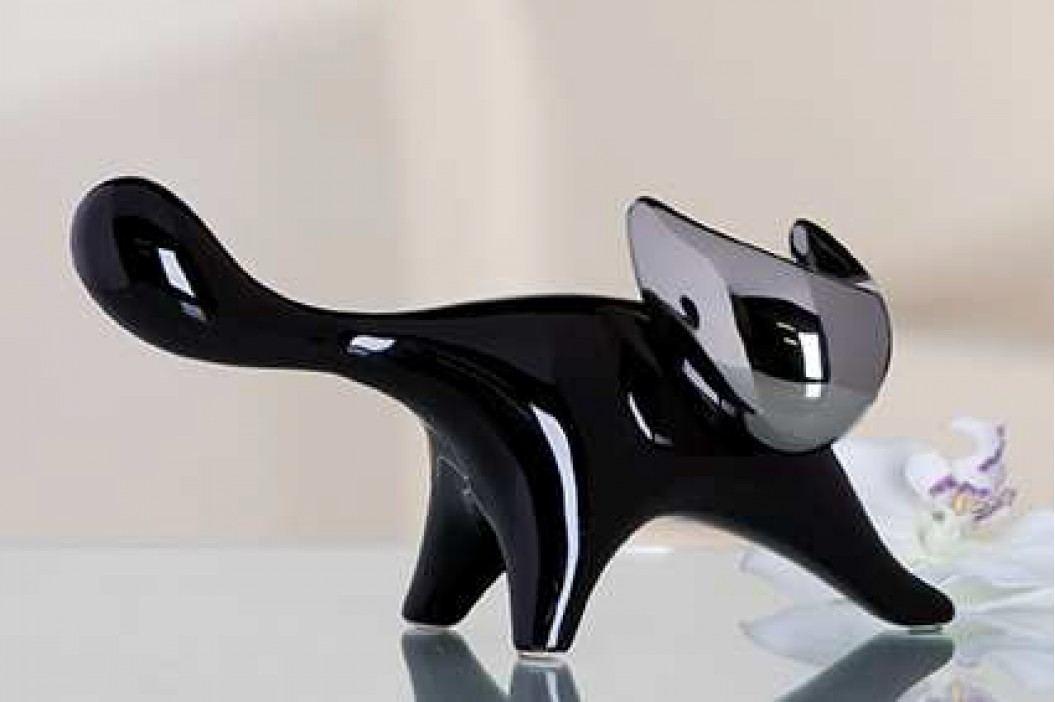 Dekoratívna figurína LEICA - čierna