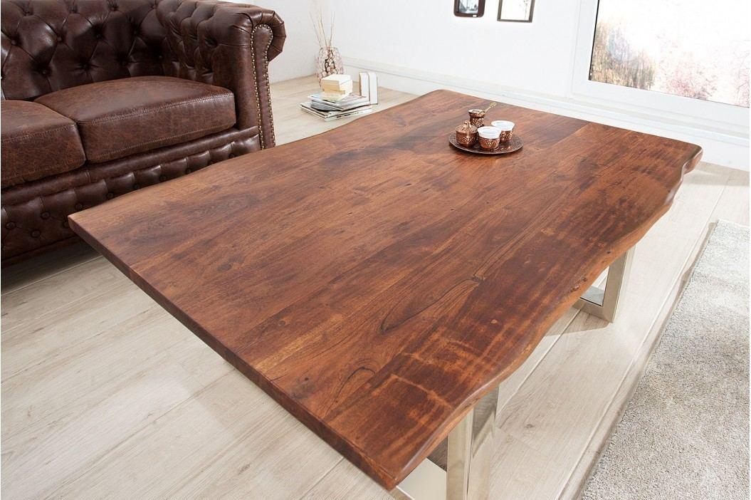 Konferenčný stolík MAMUT, 120 cm - hnedá