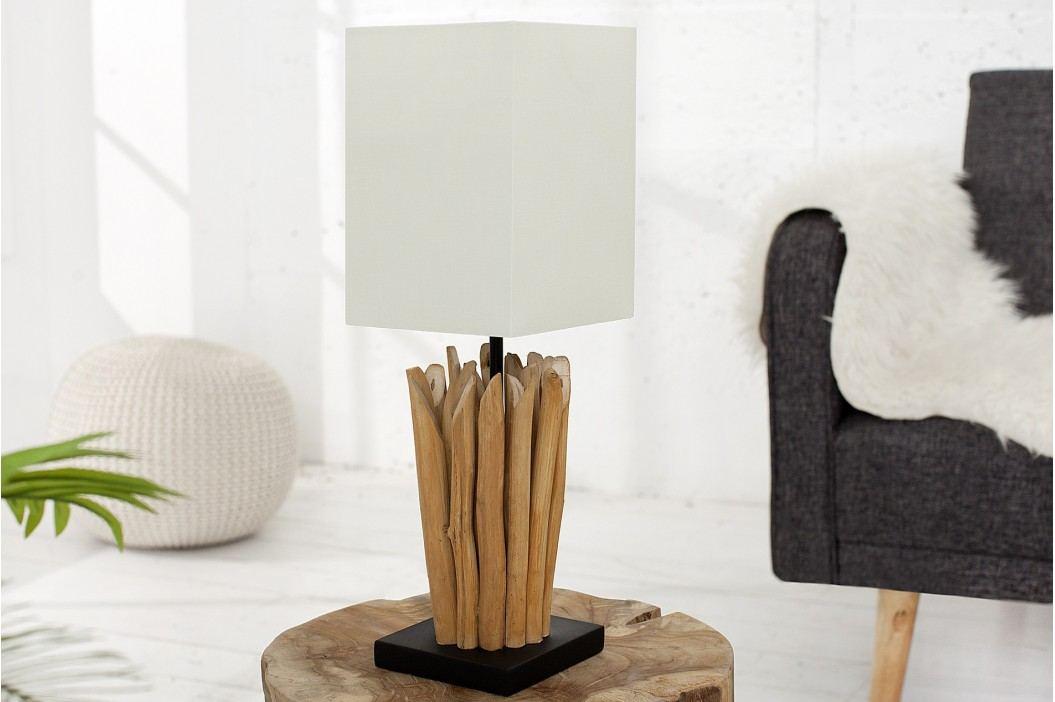Stolná lampa EUFÓRIA - biela