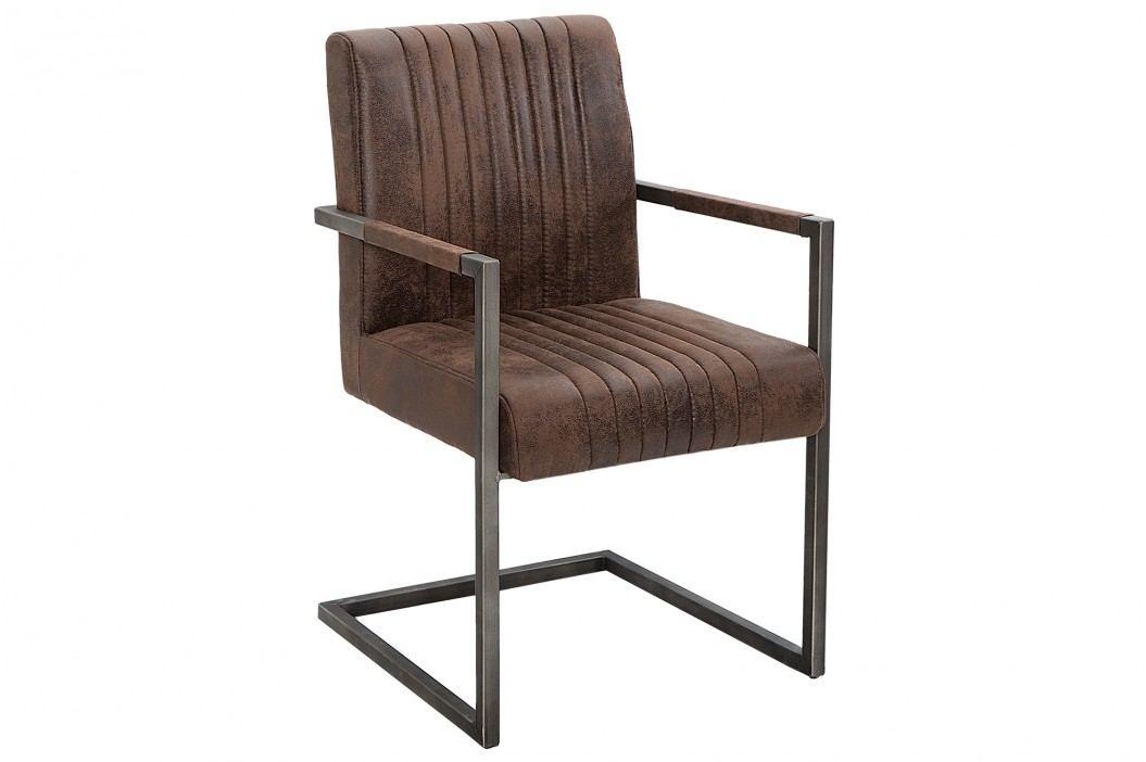 Stolička BIG ASTY - hnedá