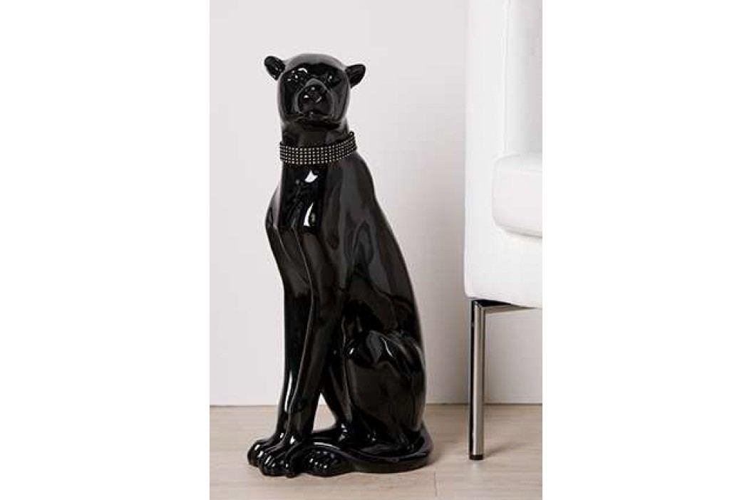 Dekoratívna socha NUJA - čierna