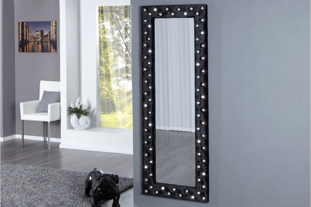 Zrkadlo na stenu BOUTIQUE L BLACK - čierna