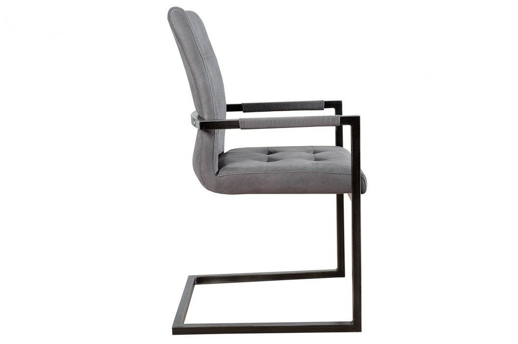 Stolička BERLIN - sivá