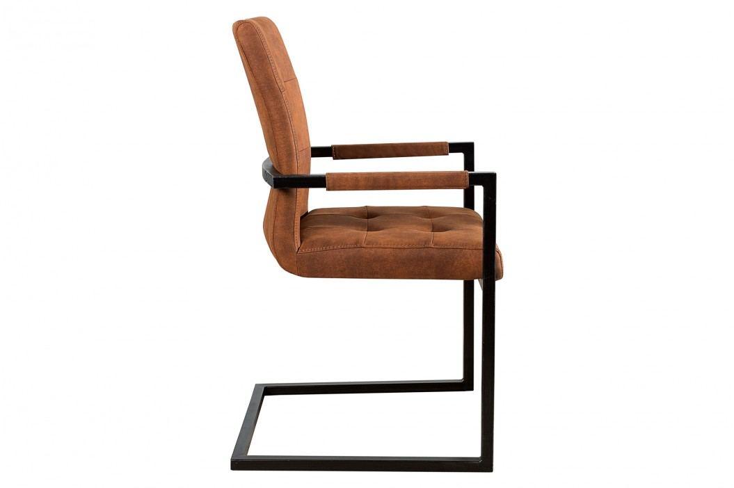 Stolička BERLIN - hnedá