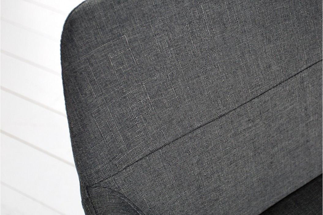 Stolička SCANIA MEISTER BIG - sivá, čierna