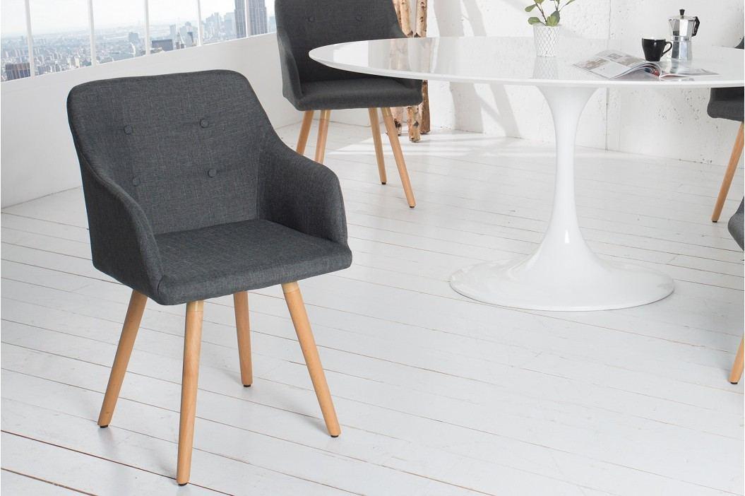 Stolička SCANIA MEISTER - sivá, čierna
