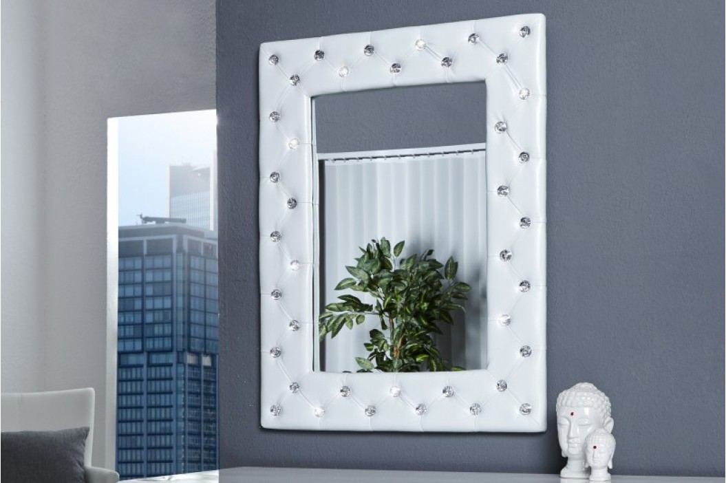 Zrkadlo na stenu BOUTIQUE M WHITE - biela