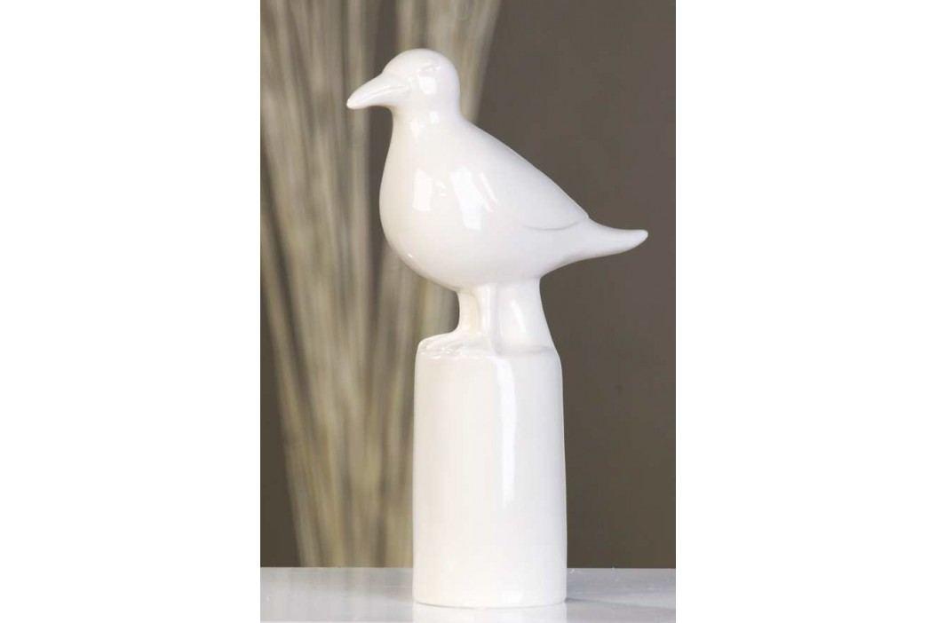 Dekoratívna soška SEAGULL - biela