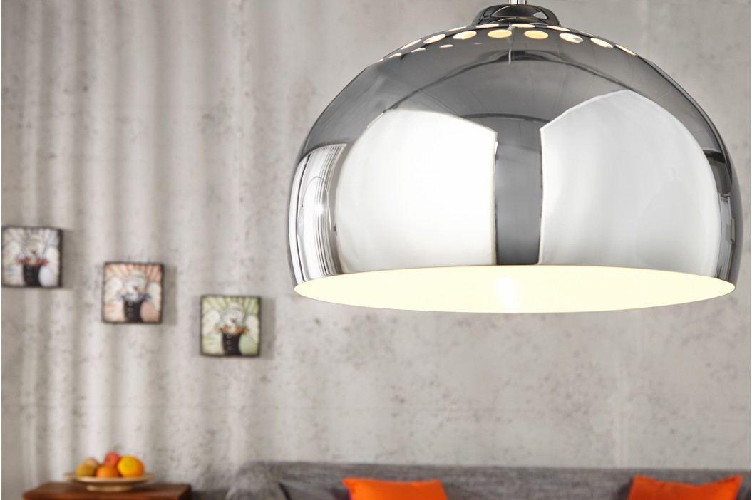 Visiaca lampa VIRGO 110 cm - strieborná