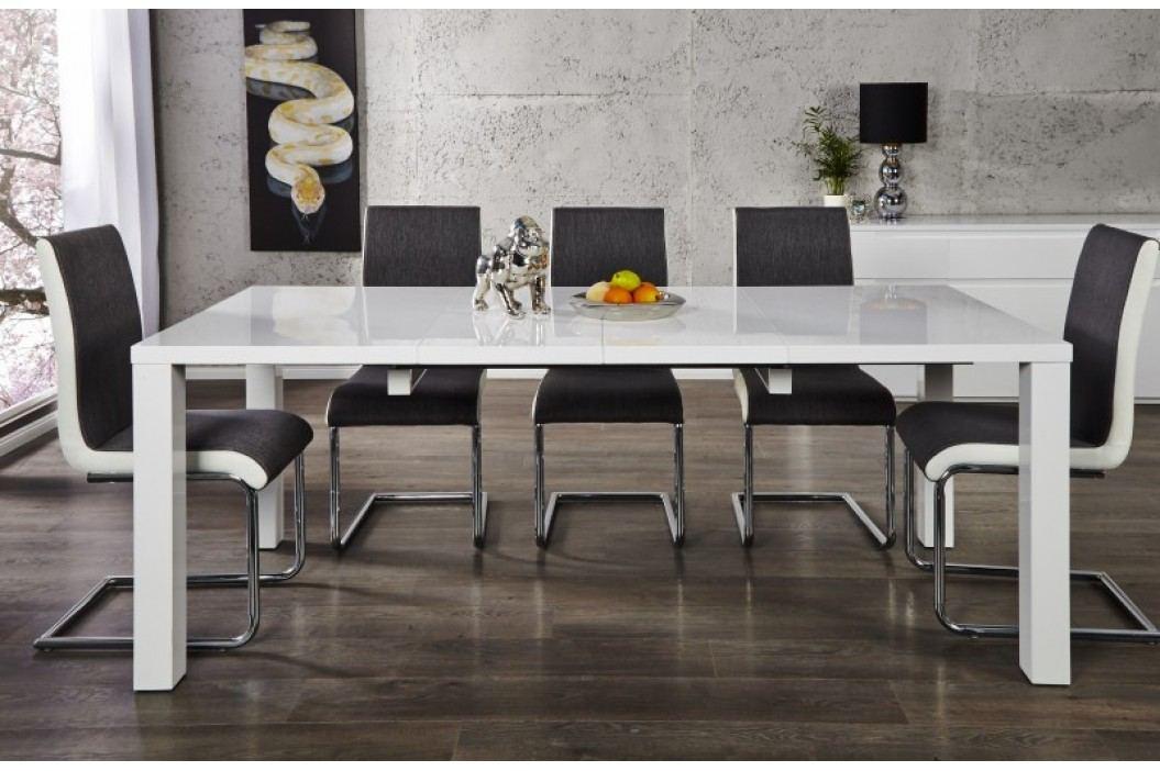 Jedálenský stôl COLONADA  120-200 cm - biela