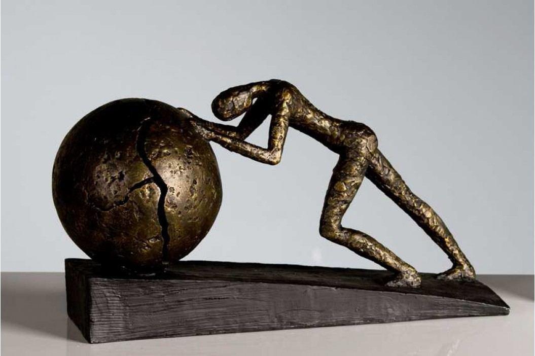 Dekoratívna soška HEAVY BALL