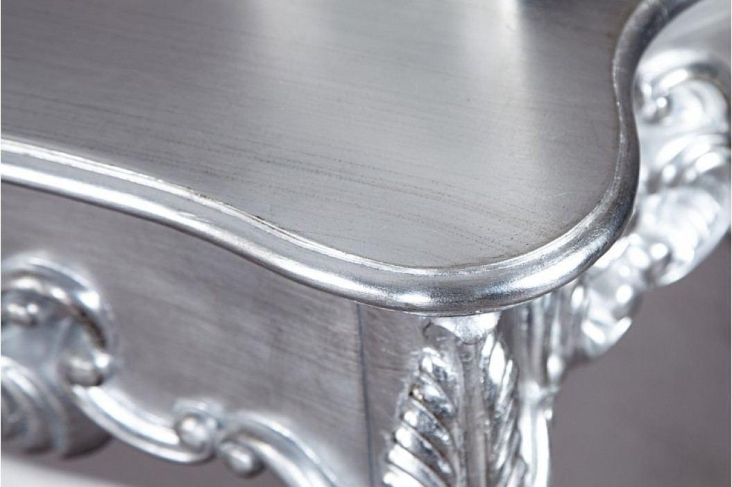 Toaletný stolík VENICE SILVER - strieborná