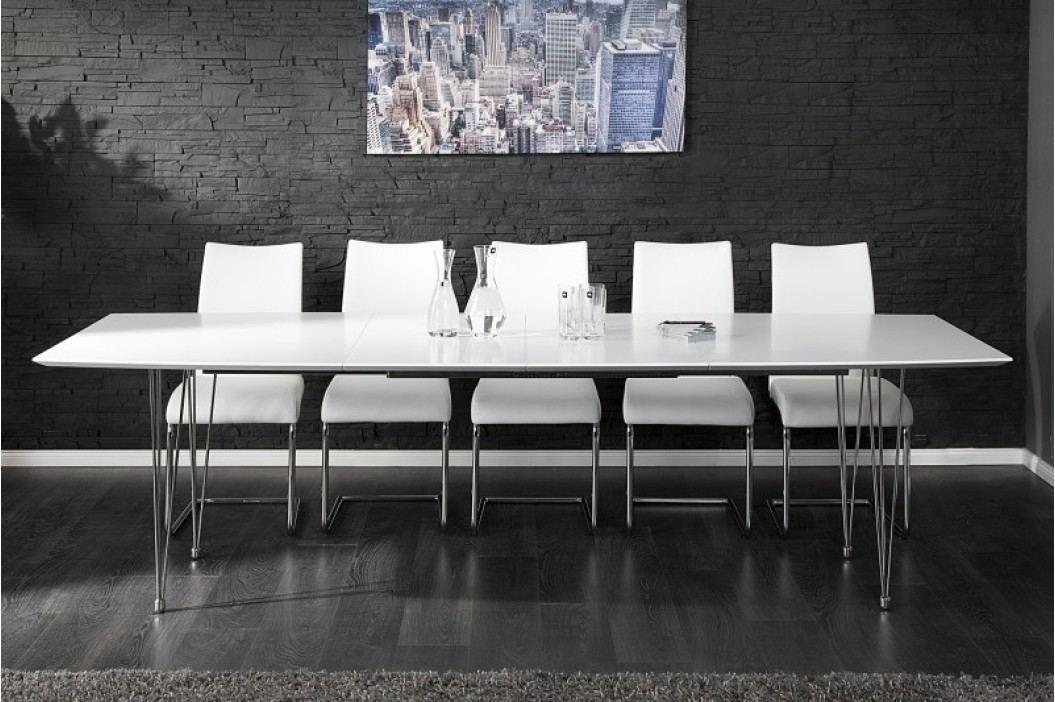 Jedálenský stôl ARCTEC 170-270 cm - biela