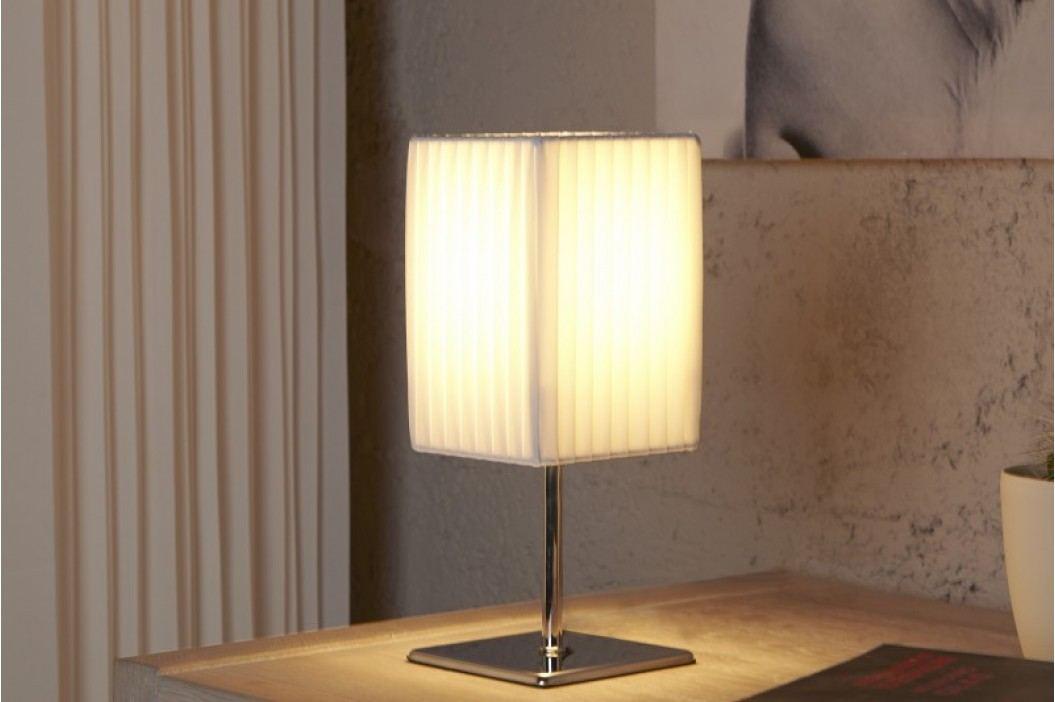 Stolná lampa DECRUX - biela