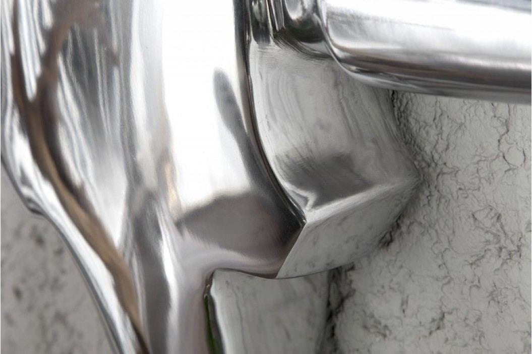 Dekorácia BYK 125 cm - strieborná