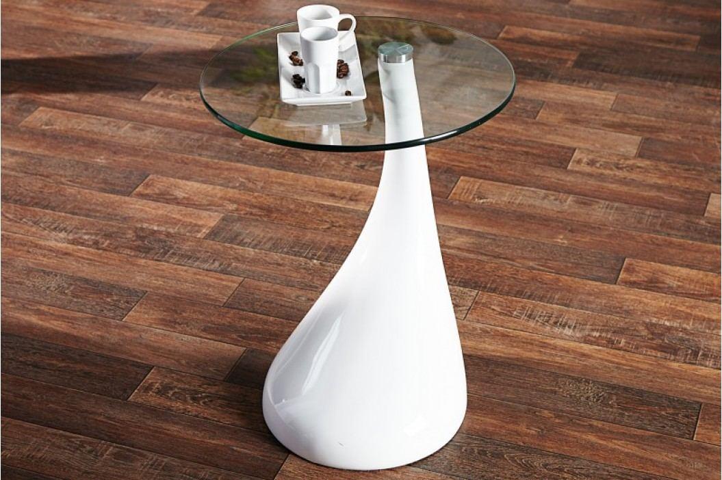 Konferenčný stolík ROBBE - biela