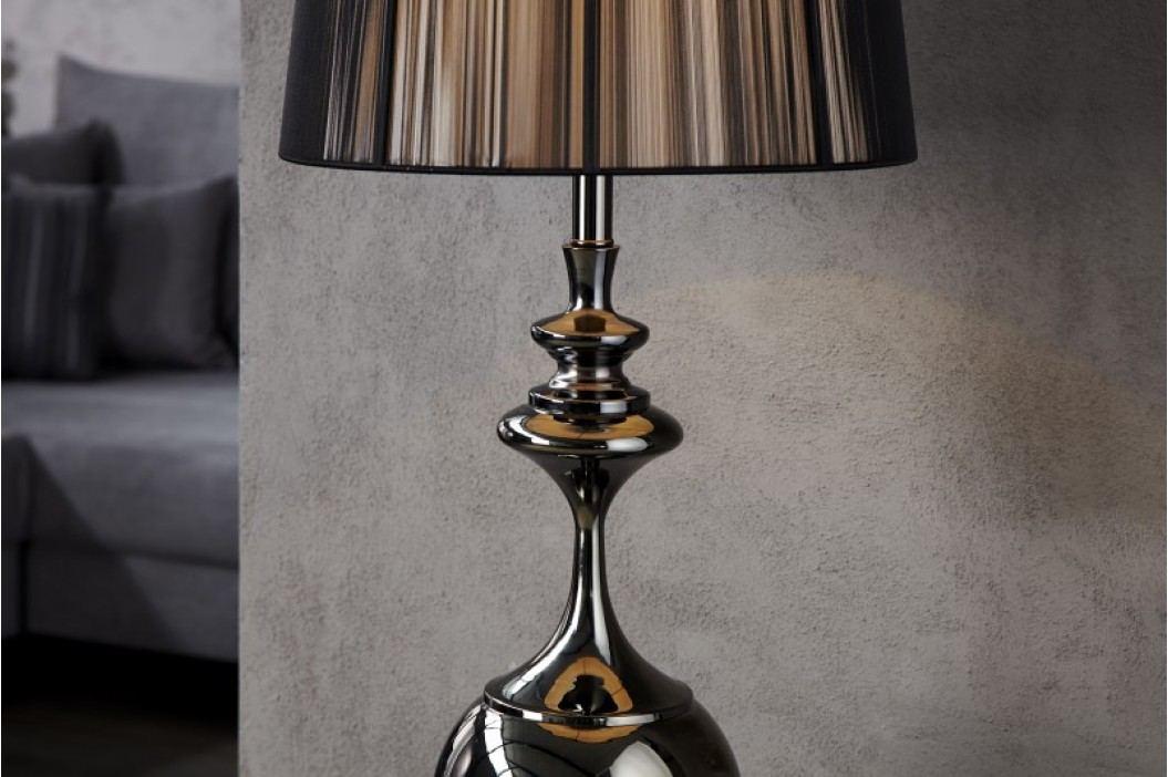 Stojaca lampa BAROCA - čierna