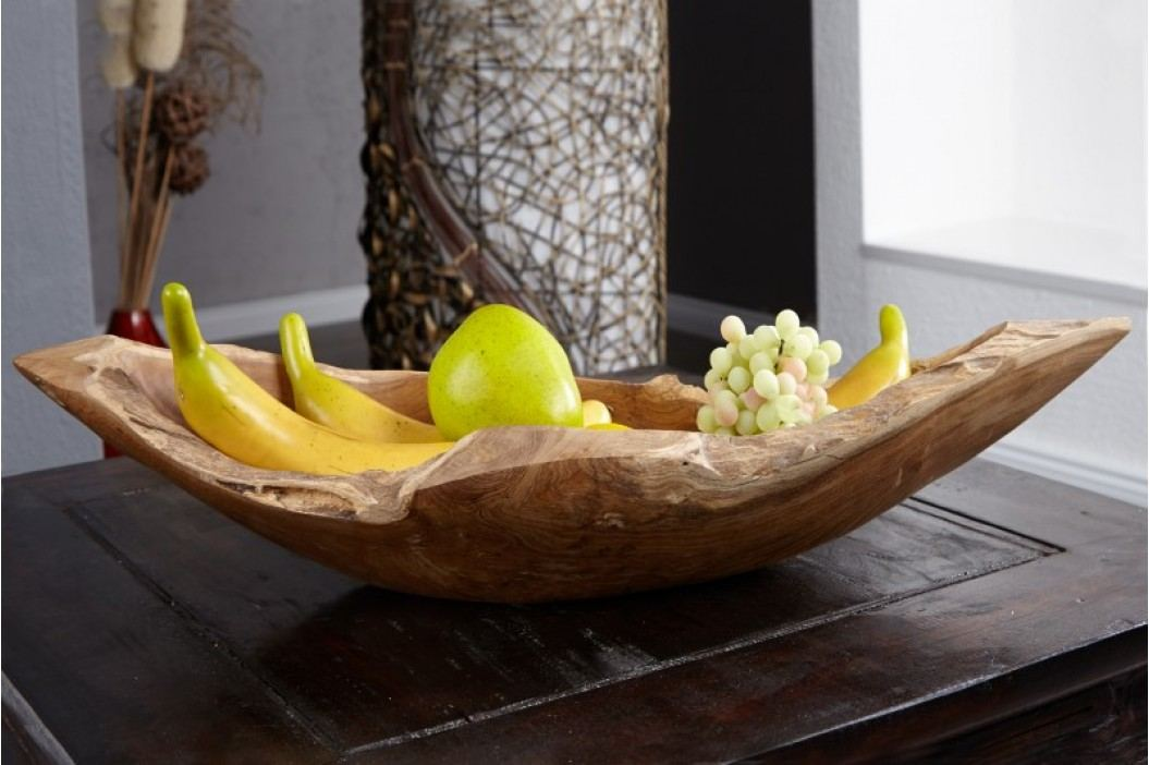Dekoratívna miska ROOT BOAT 60cm - prírodná