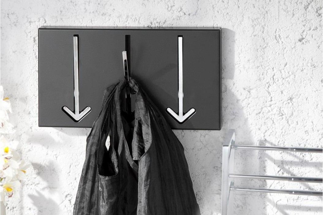 Nástenný vešiak AWORR 3 - čierna