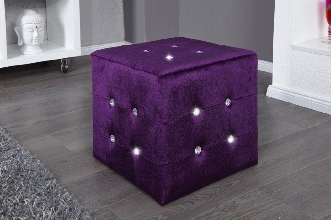 Taburetka LILA - fialová