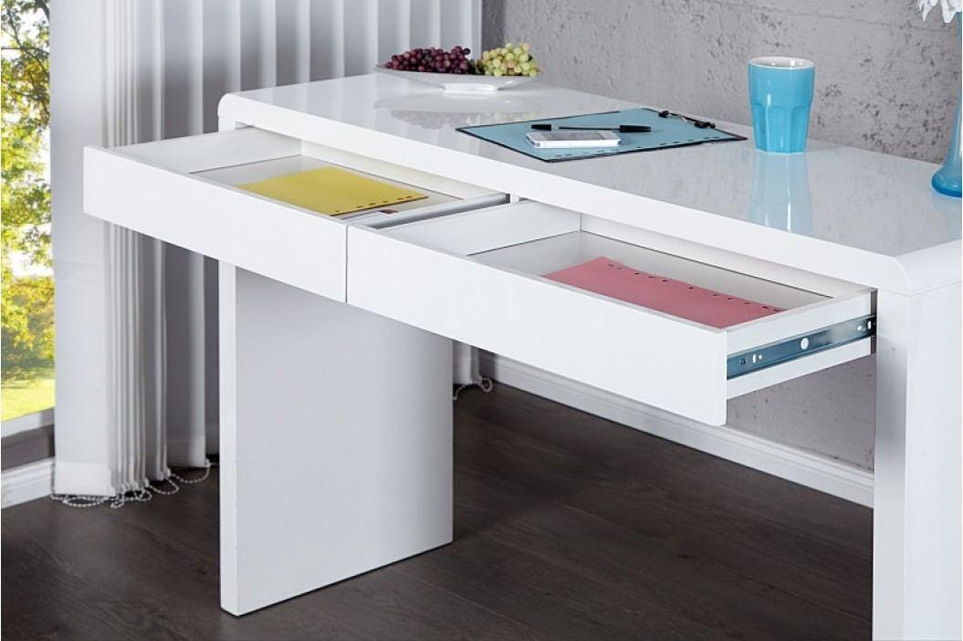 Písací stôl SENTIO - biela