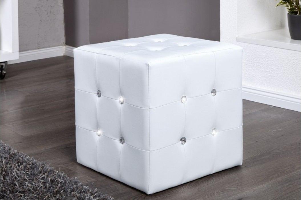 Taburetka WHITE - biela